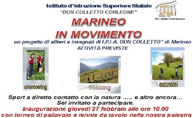 Locandina Marineo in movimento