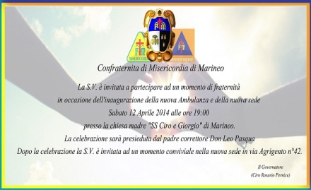Invito misericordia