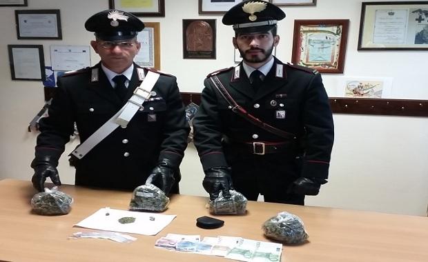 Carabinieri_Droga Marineo