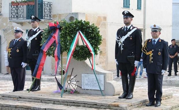 commemorazione Te. Col. Russo e prof Costa