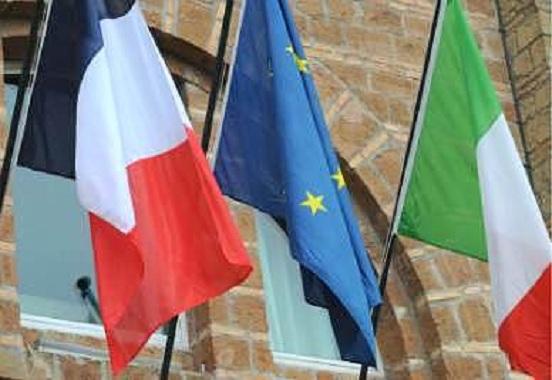 Bandiera Francese italiana