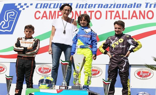 A Triscina (TP) Gabriele Minì si aggiudica la 60 Mini e il Trofeo intitolato a Claudio Bacchetta.