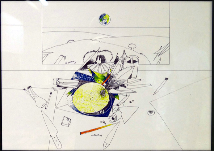Martorelli, disegni inediti in una mostra a Marineo