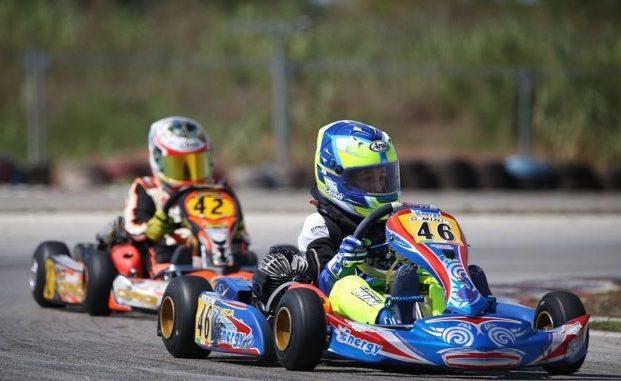 Al Kartodromo Val Vibrata di Sant'Egidio (Teramo) ultima prova del Campionato Italiano ACI Karting