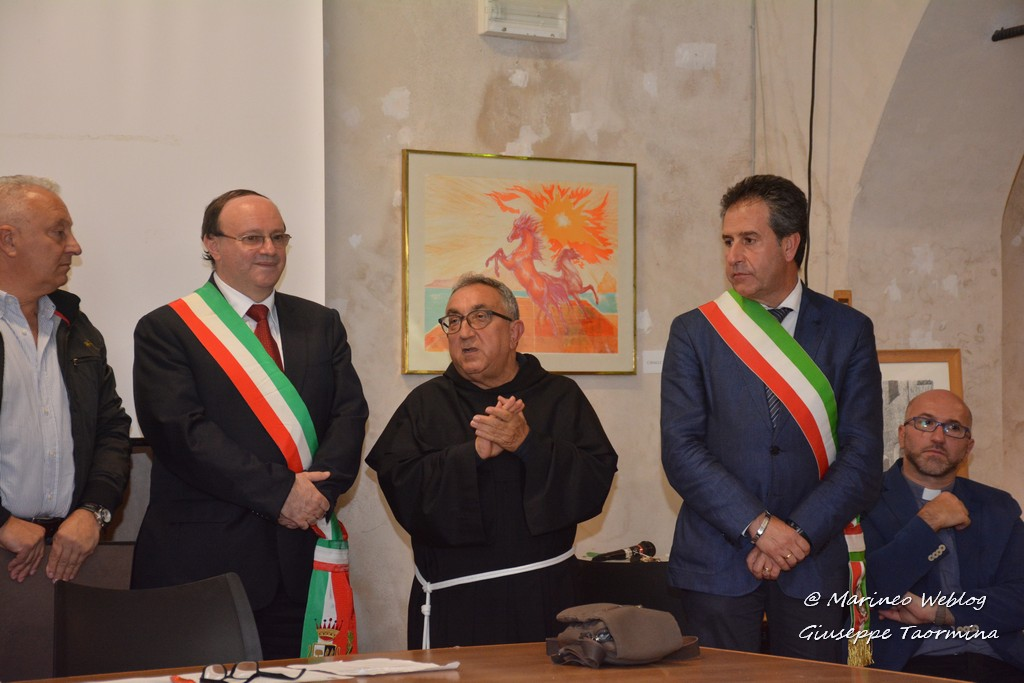 Marineo conferisce la cittadinanza Onoraria a Padre Giuseppe Messineo (fotogallery)