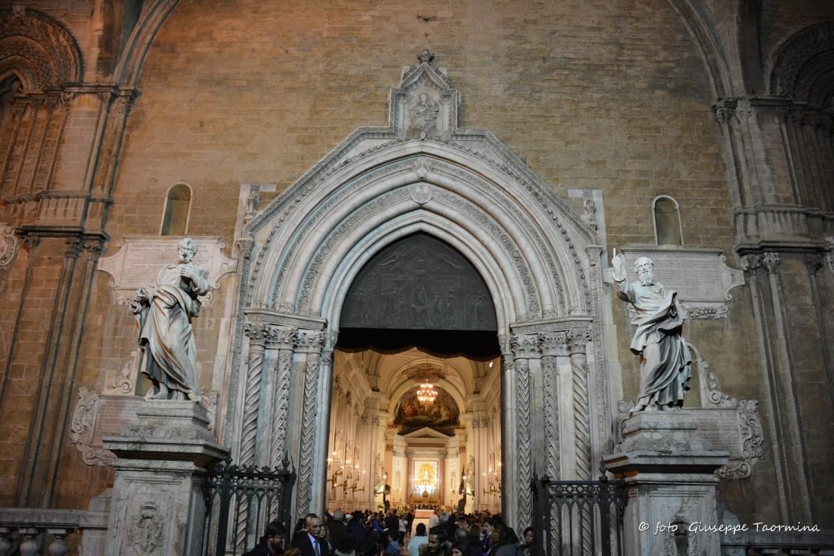 Giubileo della misericordia chiusura porta santa della cattedrale di palermo marineo weblog - Porte a palermo ...