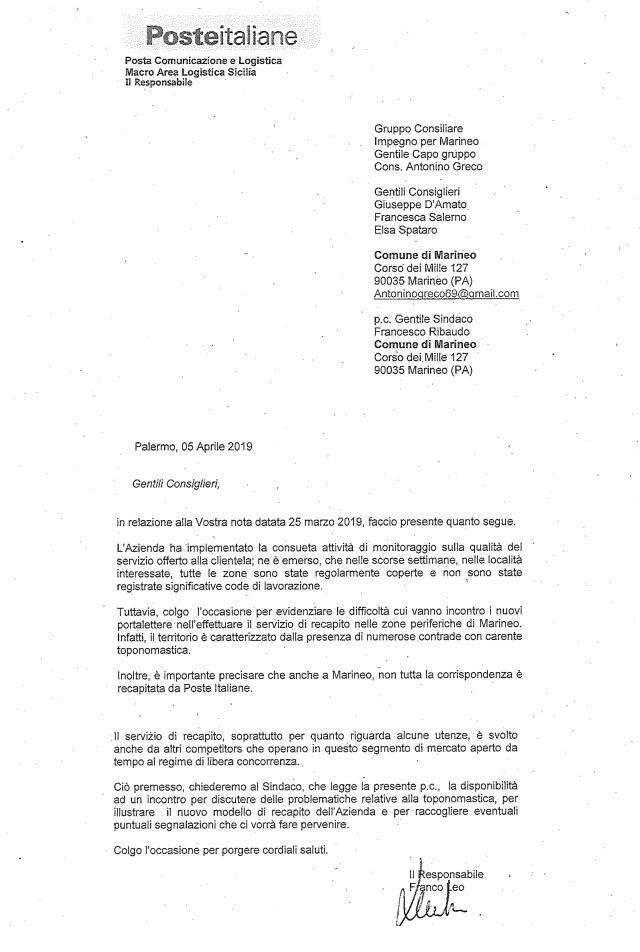 Disservizio poste italiane